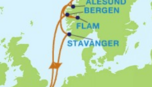 Route Celebrity Cruises Norwegenkreuzfahrt - Südnorwegen